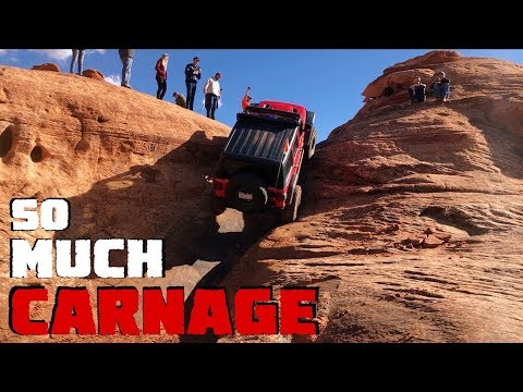 Our Jeep Wrangler JLU Rubicon Conquers The Maze - Our New Favorite Trail